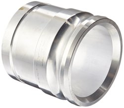 "Victaulic 40AG Aluminum Cam & Groove Hose Fitting - 4"" Adapter x 1-Groove"