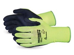 Superior Dexterity LX High-viz String Gloves - Pk of 1 Dozen - Yellow/8