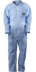 Lakeland SafeGard Disposable Economy SMS Coverall - 25 Pack - Blue / 3XL