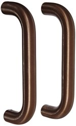 Rockwood Bronze Straight Solid Door Pull Set - Oil Rubbed Finish