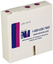 Nev's Ink Lab Cryogenic Dot Circle Label for 1.5ml to 2ml Tubes - Mercury
