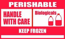 """Polar Tech TAL514 5"""" X 3"""" Temperature Awareness Label"""