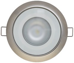 Low Profile 20W-Eq. 10-30V Flush Mount Light -White/Red (LEDFM-20W-WR-PL)