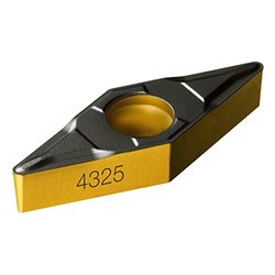 Sandvik Coromant 10-Piece 35 Degree Rhombic Neutral Carbide Turning Insert