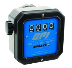 GPI 126300-02 MR 5-30 Series 19 to 119 LPM 50 PSI Mechanical Fuel Meter