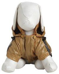 Pet Life Reflecta-Sport Pet Rainbreaker Jacket - Mustard Yellow - Sz: XS