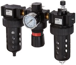 Parker 07A32A18A2BD 2-125 Psig Pressure Range Filter/Regulator/Lubricator