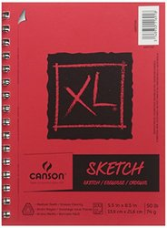 "XL Sketch Pad, 5.5""x8.5"" Fold Over"