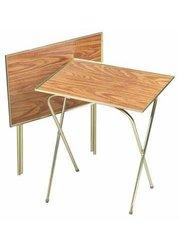 Quaker  Honey Oak Tray Table (00358)