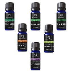 Pure & Therapeutic grade Aromatherapy Essential Oils - 6Pcs/10ml ea