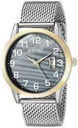 August Steiner Men's Watch: Asgp8195ssg/stainless Steel-gold