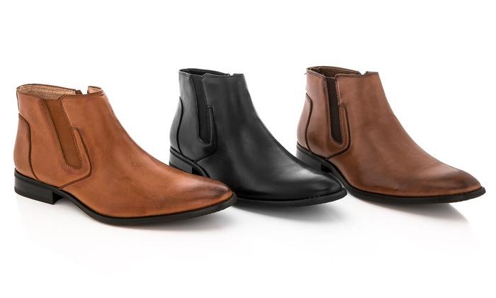 fd84b610d87 Adolfo Men s Dress Boots  Black 8 - Check Back Soon - BLINQ
