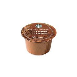 Starbucks Colombia Brewed Coffee Verismo Pods