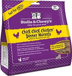 Stella & Chewy's - Freeze Dried Dinner Morsels For Cats Chick Chick Chicken - 9 oz.