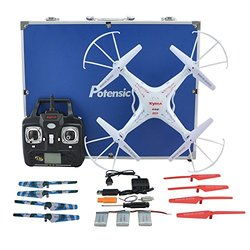 Potensic Upgraded X5C-1 Syma RC Drone 2.4GHz CH 6 Axis Gyro RC Quadcopter
