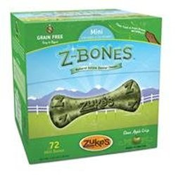Zukes Performance Pet Z-Bone Mini Apple 72 Count