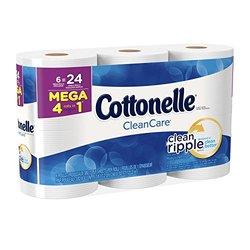 Cottonelle Clean Care Mega Roll Bath Tissue Toilet Paper
