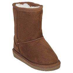 Microfiber Sheepdawg Boots: Chestnut/toddler 6-7
