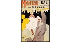 Henri de Toulouse-Lautrec 26 X 38 X 0.4 Moulin Rouge c 1891 Art Print