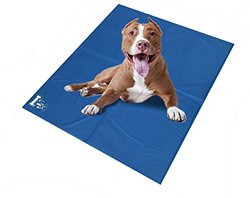 Mr Peanut's Chill Pad - Comfort Cooling Pet Mat - Blue - Size: XL