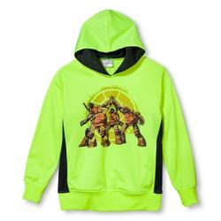 Nickelodeon Boy's Teenage Mutant Ninja Turtles Hoodie - Green Size: Medium