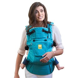 SIX-Position, 360  Ergonomic Baby & Child Carrier by LILLEbaby - The COMPLETE Embossed (Teal)