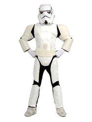 Star Wars Child's Deluxe Stormtrooper, Medium