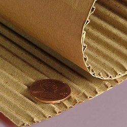 "Paper Mart 18"" Regular B Flute Corrugated Rolls"