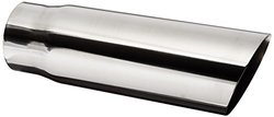 """Vibrant 1562 5"""" Round Stainless Steel Tip"""