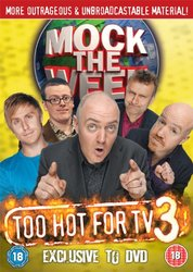 Mock the Week Too Hot for TV 3 DVD Angst Productions - 2010