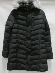 Spire By Galaxy Women's Quilted Bubble Jacket - Black - Size: 2XL