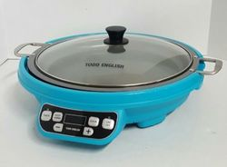 Todd English 1800W Multi Purpose Induction Cooker - Aqua