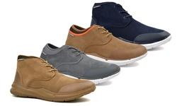 Men's Scout Shoes: Sand-mid Cut/size 13