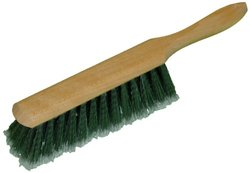 "Zephyr 40208 Grey Plastic Flagged Wood Block Counter Brush, 8"" Length (Pack of 12)"