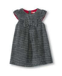 Oshkosh Infant Toddler Girls Woven Dress - Black/White - Size: 5T