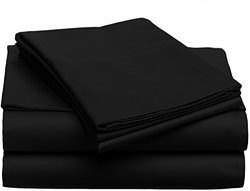 6-piece Bed Sheets Set: Full/Black 1112518