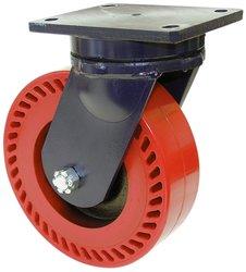 RWM Casters Plate Caster Heavy Duty Nylon Wheel Ball Bearing