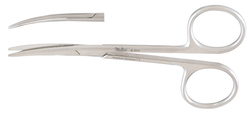 Miltex 5-314 Strabismus Scissors - SS- Curved Type -Size: 102mm