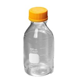Corning Sterile Graduated Roller Bottle with Cap 20 Bags - Orange