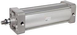 "SMC Air Cylinder - Aluminum - Tie-Rod - 6"" Stroke - 5/8"" Rod OD - 3/8"" NPT"