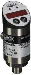 Noshok 800 Electronic Indicating Pressure Transmitter/Switch 0-3750 psi