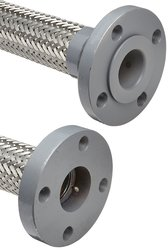 """Unisource SF21 Flexible Metal Hose Assembly - SS - Size: 12"""" Length"""