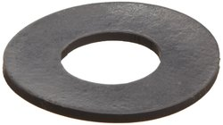 "Small Parts Viton Fluoroelastomer Flange Gasket Pack of 1 - Black - 4""Pipe"