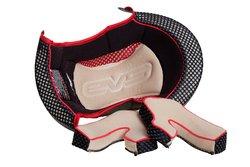 EVS Sports Vortek T5 Panama Replacement Helmet Liner - Red - Size: L