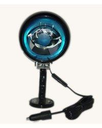 Larson Electronics MUL Magnetic Mount Blue Bulb Spotlight - 21'-batt clamp