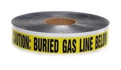 Presco 12-pack Underground Warning Tape - Yellow/Black (D2105Y5-658)