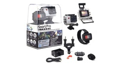 SportPro Xtreme Full 1080p HD Wi-Fi Sports Camera - Silver