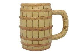 Essence of Europe Gifts E.H.G Oktoberfest Beer Barrel Ceramic Beer Stein