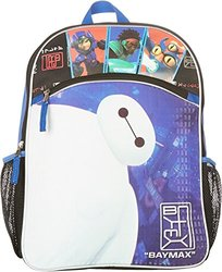 Big Hero 6 Large Backpack w/ Zipper Front