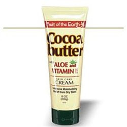 Fruit Of The Earth Cocoa Butter With Aloe Cream - 8oz